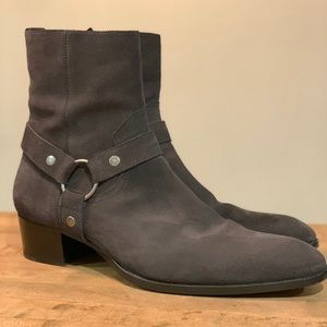 YSL Wyatt Harness Chelsea boot